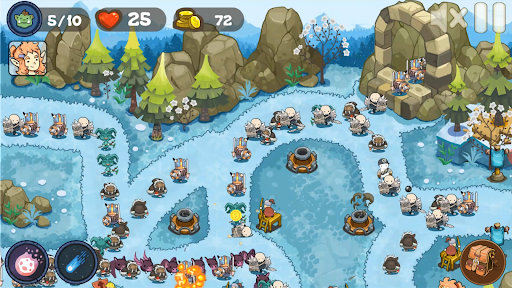 Tower Defense Realm King: Epic TD Strategy Element  screenshots 4