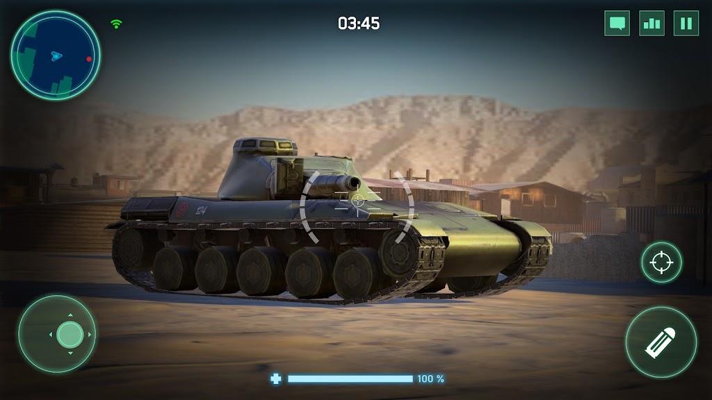 War Machines: Tank Army Game poster 2