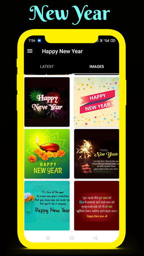 Happy New Year Wishes With Images 2021 1.0.3 Screenshots 2
