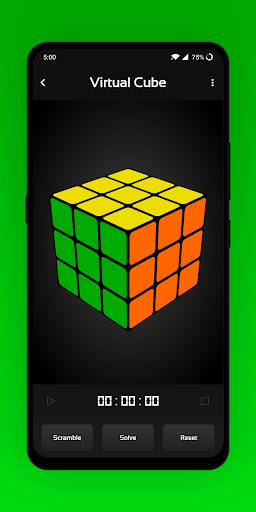 CubeX - Cube Solver, Virtual Cube and Timer apkdebit screenshots 4