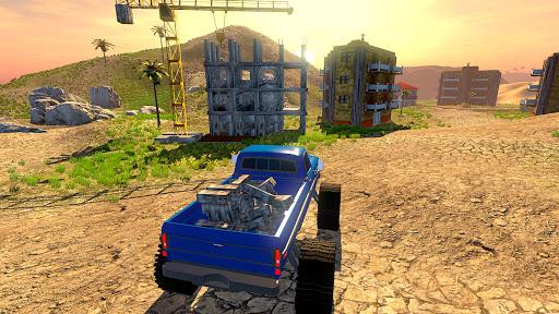 Off road Truck Simulator: Tropical Cargo android2mod screenshots 4