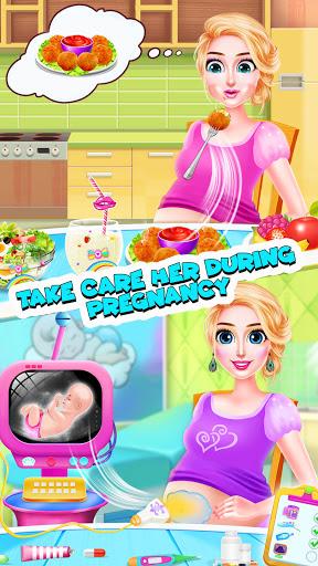 Télécharger Gratuit Jeux de maman enceinte et bébé - Jeux de filles APK MOD (Astuce) screenshots 4