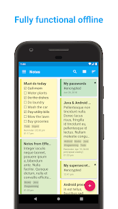 Download FairNote Notepad – encrypted notes & checklists Apk v4.2.9 (Pro) 2