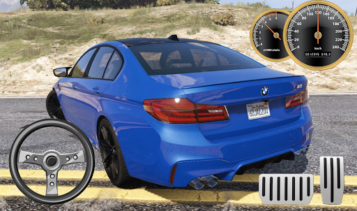 Drive BMW M5 & Parking School android2mod screenshots 2