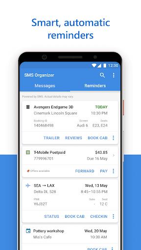 SMS Organizer 1.1.175 Screenshots 2