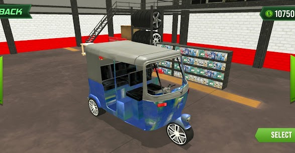 Modern Tuk Tuk Auto Rickshaws : Mega Driving Games For Android 1