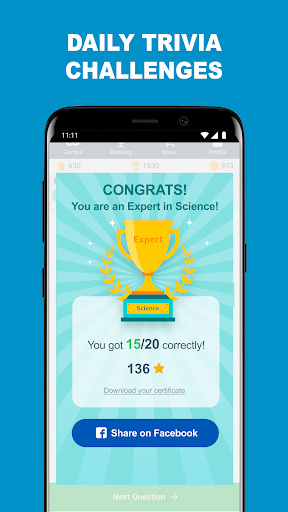 QuizzClub: Family Trivia Game with Fun Questions 2.1.19 Screenshots 6