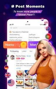 FaceCast 2.5.85 MOD APK – Make New Friends – Meet & Chat Livestream 10