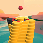 The Stack Tower : Ball Fall game 3d stick blocks ☄