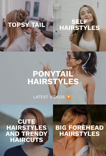 Hairstyles for your face : Free Hair salon 3.0.153 Screenshots 6