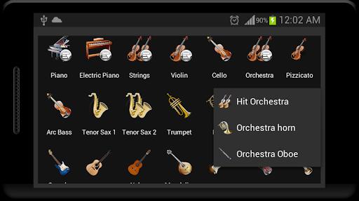 Strings and Piano Keyboard android2mod screenshots 12