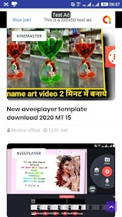 kinemaster template and aveeplayer template 2020 4