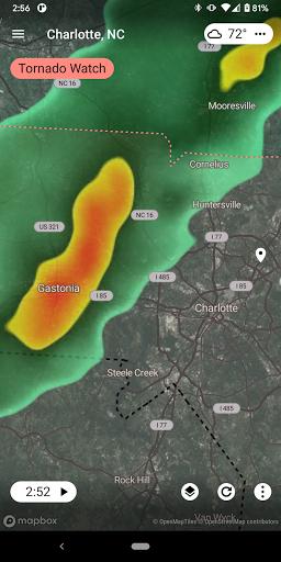 Radar X: Weather Radar, Alerts, Forecasts  screenshots 2
