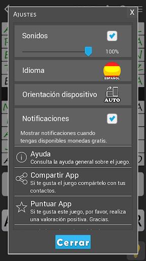 Crosswords - Spanish version (Crucigramas) 1.2.3 screenshots 7