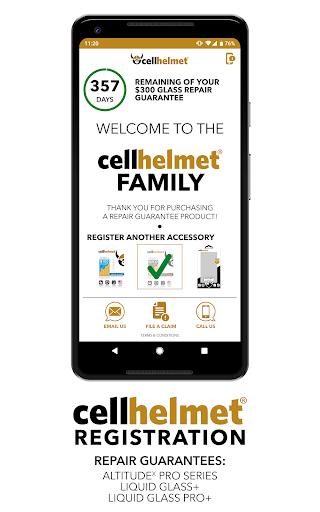 cellhelmet Registration  screenshots 1