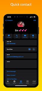 iCall – iOS Dialer MOD APK, iPhone Call (Pro Unlocked) 7