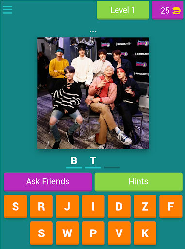 BTS ARMY - word quiz game 2020 android2mod screenshots 15