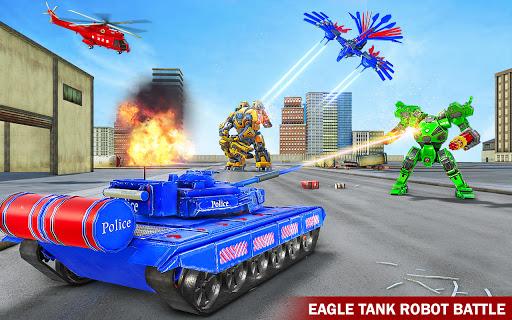 Tank Robot Game 2020 – Police Eagle Robot Car Game 1.1.4 screenshots 1