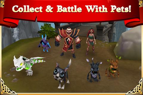 Arcane Legends MMO-Action RPG  screenshots 5