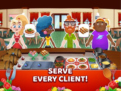 My Pasta Shop - Italian Restaurant Cooking Game apkslow screenshots 12