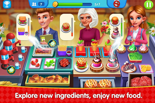 Cooking Square Food Street 1.12 screenshots 1