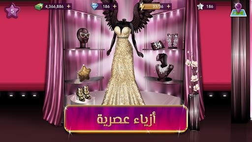 Code Triche ملكة الموضة | لعبة قصص و تمثيل (Astuce) APK MOD screenshots 4