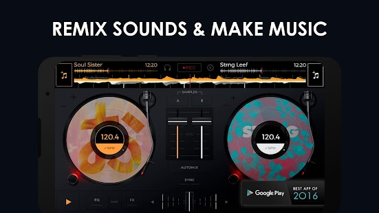 edjing Mix - DJ Musik Mixer Screenshot