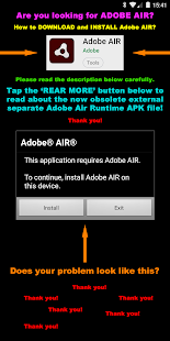 Air 4 Android 1.1 Developer Screenshots 1