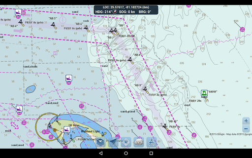 Marine Ways - Free Nautical Charts 1.24 Screenshots 10
