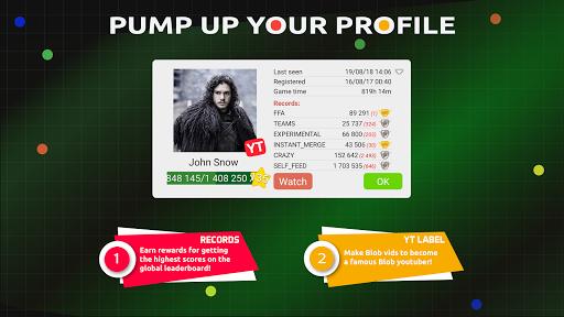 Blob io - Divide and conquer multiplayer gp11.5.0 screenshots 8