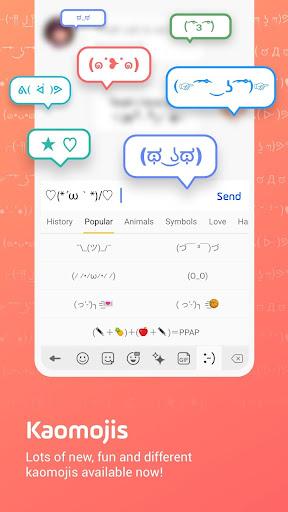 Facemoji Emoji Keyboard Lite: Emoji,DIY Theme,GIF 2.5.3.1 Screenshots 5
