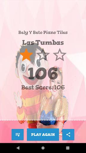bely y beto musica piano tiles Las Tumbas 3.0 screenshots 4