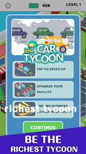 Idle Car Tycoon Mod Apk (Unlimited Money) 5