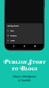 JotterPad – Writer, Screenplay, Novel (MOD, Premium) v13.0.11 8