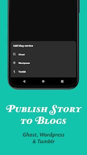 JotterPad - Writer, Screenplay, Novel 13.0.11B-pi Screenshots 7