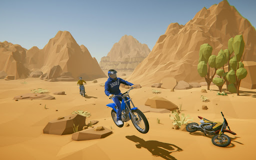 Tricky Bike Stunt Racing Games 2021-Free Bike Game  screenshots 1