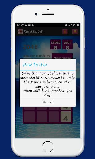 2048 game screenshot 2