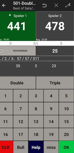 Darts Scoreboard: My Dart Training apktram screenshots 4