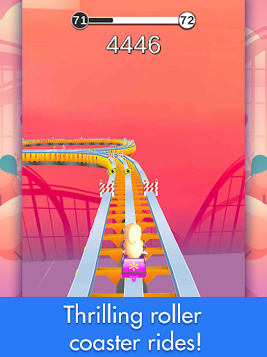 Coaster Rush: Addicting Endless Runner Games 2.2.16 screenshots 9