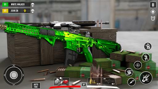 Commando Secret Mission - Jeux d'action gratuits APK MOD screenshots 3