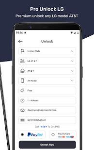 Free SIM Unlock Code for LG Phones