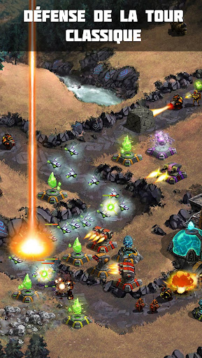 Télécharger Gratuit Ancient Planet Tower Defense Offline APK MOD (Astuce) screenshots 1