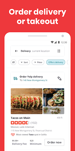 Yelp: Find Food, Delivery & Services Nearby 21.5.0-21210517 screenshots 2