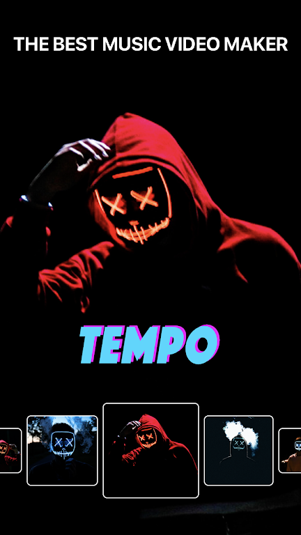 Tempo - Music Video Maker with Effects  poster 0