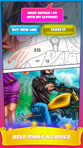 Color By Number Secrets - Coloring Book Stories 1.2.1 screenshots 6