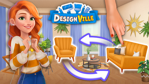 DesignVille: Home Interior & Design Makeover Game v0.0.63 screenshots 17