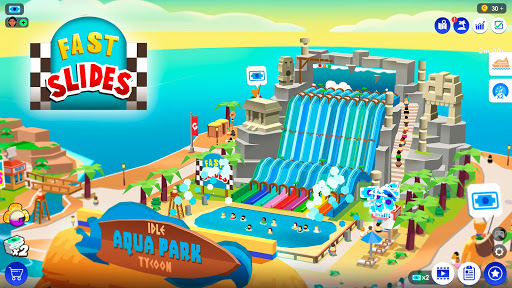 Idle Theme Park Tycoon - Recreation Game  screenshots 1
