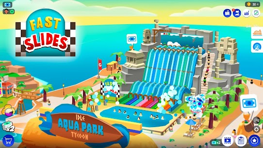 Idle Theme Park Tycoon – Recreation Game Mod 2.5.4 Apk (Unlimited Money) 1