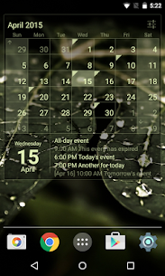 Calendar Widget Month + Agenda v1.32 [Unlocked] by IT Benefit 3