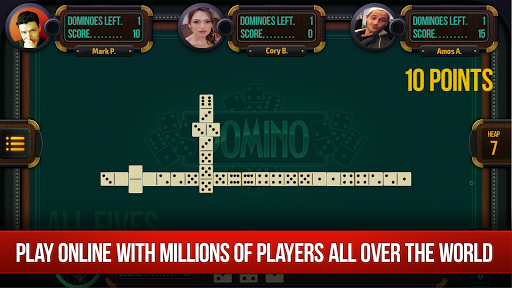 Domino - Dominoes online. Play free Dominos! screenshots 1